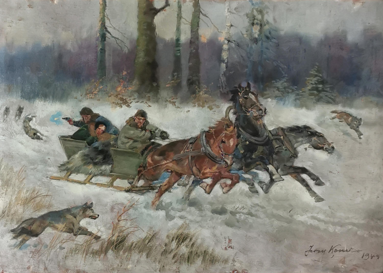 Napad wilków, 1944