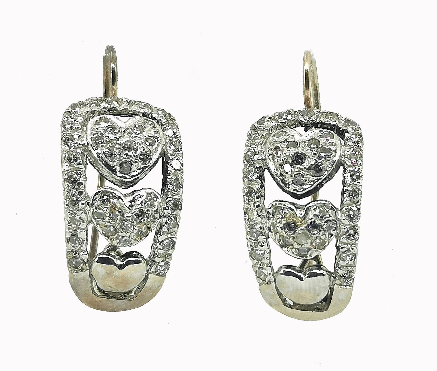 Kolczyki z diamentami