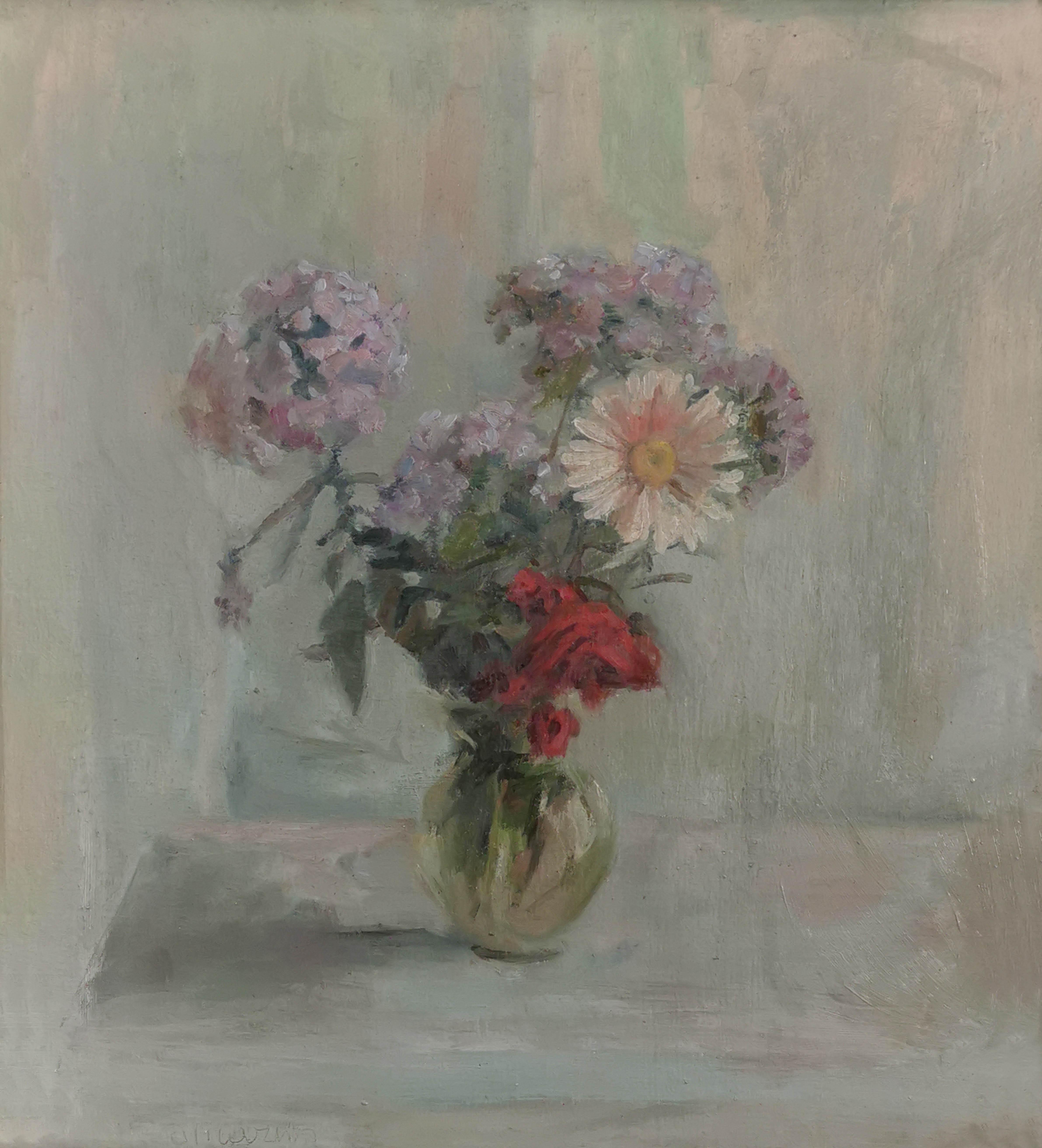 Kwiaty w wazonie, 1977