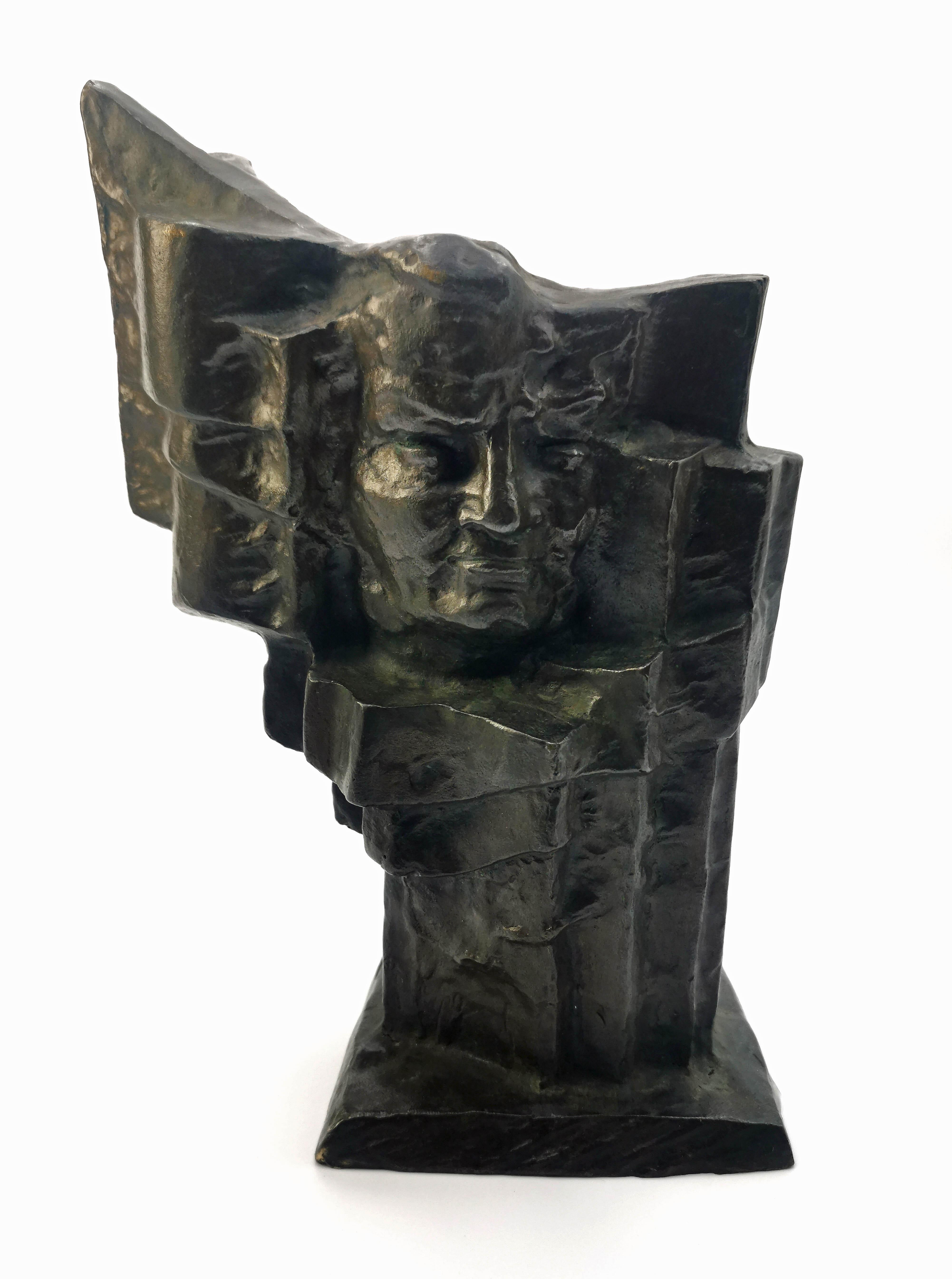 Miniatura pomnika Władysława Broniewskie