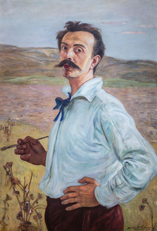 Autoportret, 1920 r.