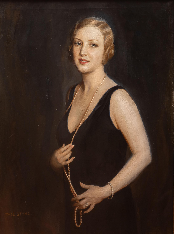 Dama z perłami