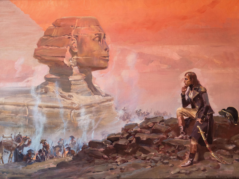 Napoleon patrzący na Sfinksa, 1901 r.