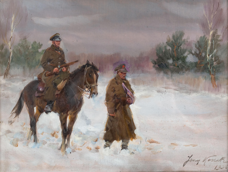 Patrol ułański, 1935 r.