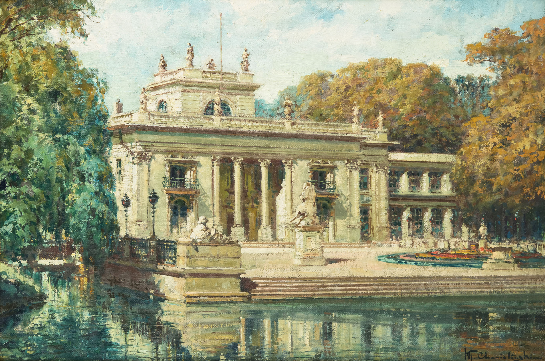 Pałac Łazienkowski w Warszawie, ok. 1935