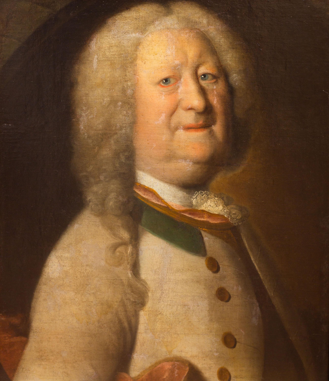 Portret mężczyzny, około 1730 r.