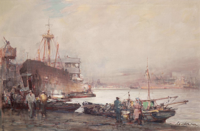 Pejzaż portowy