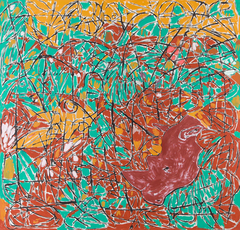 """""""Nosorożec i motyle"""", 1991"""