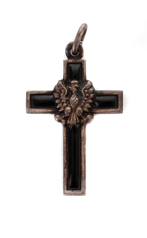 Krzyżyk z orzełkiem, koniec XIX w.