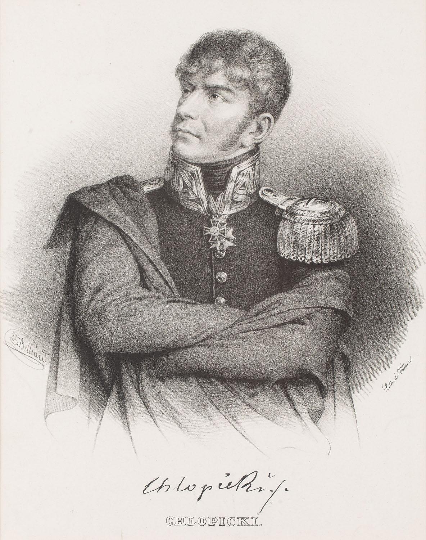 Portret Chłopickiego, XIX w.