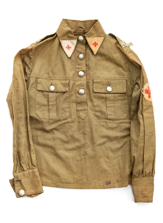 Bluza sanitariuszki PCK, lata 30. XX w.