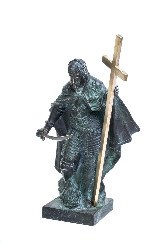Figura Króla Zygmunta III Wazy, około poł. XX w.
