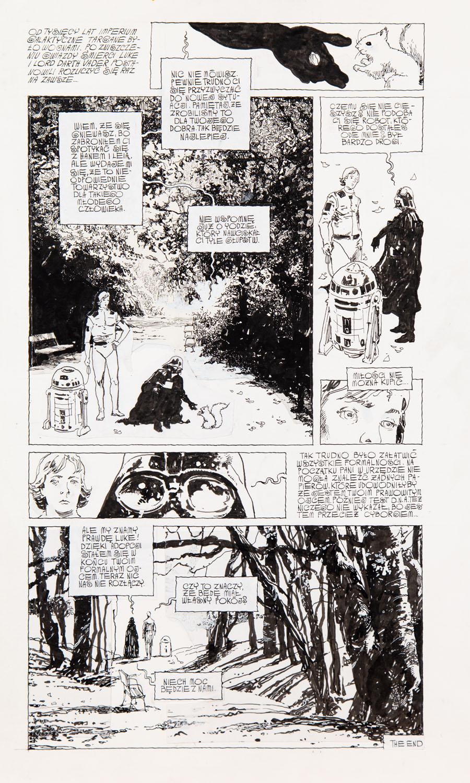 """""""Star Wars"""", odcinek komiksu, około1997"""