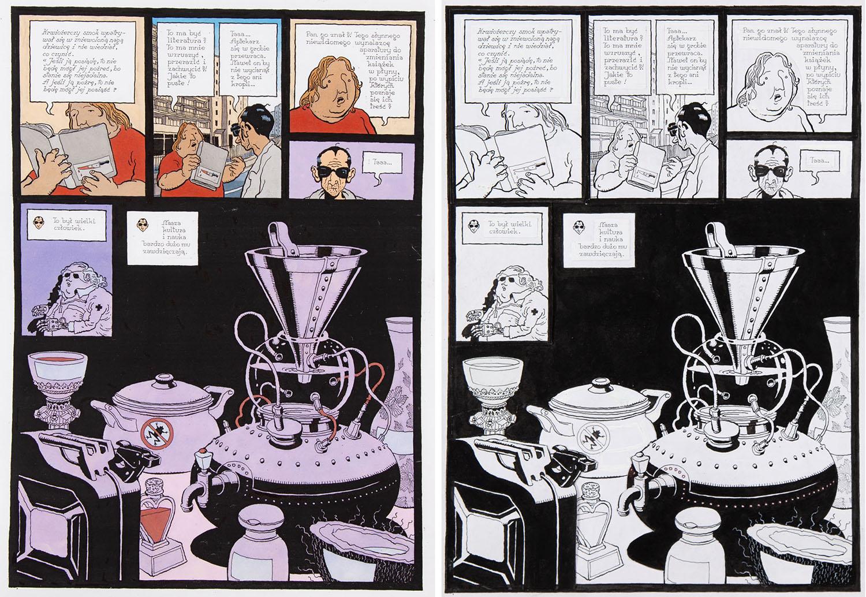 """""""Przebiegłe dochodzenia Ottona i Watsona. Romantyzm"""", """"Aptekarz przewraca się w grobie"""", str. 7, 2007"""