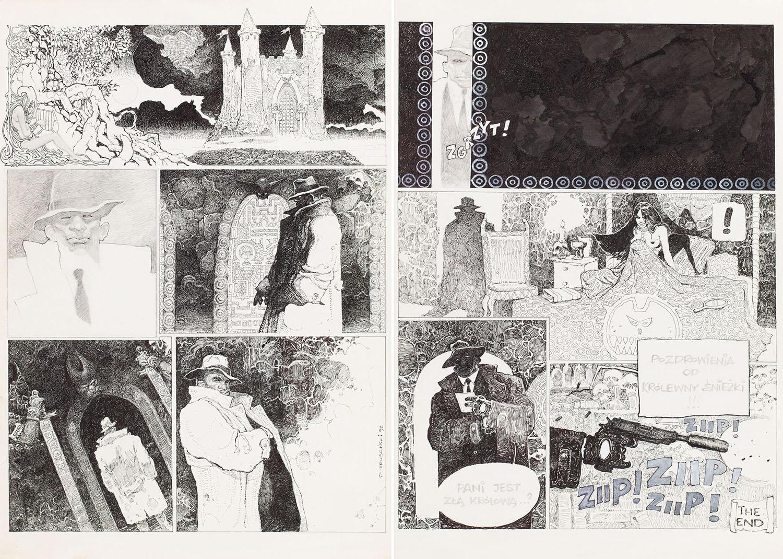 """""""Niebajka"""", cały komiks, 1992"""