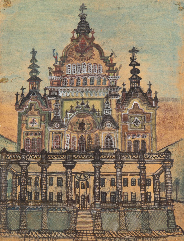 Architektura fantastyczna, lata 20. XX w.