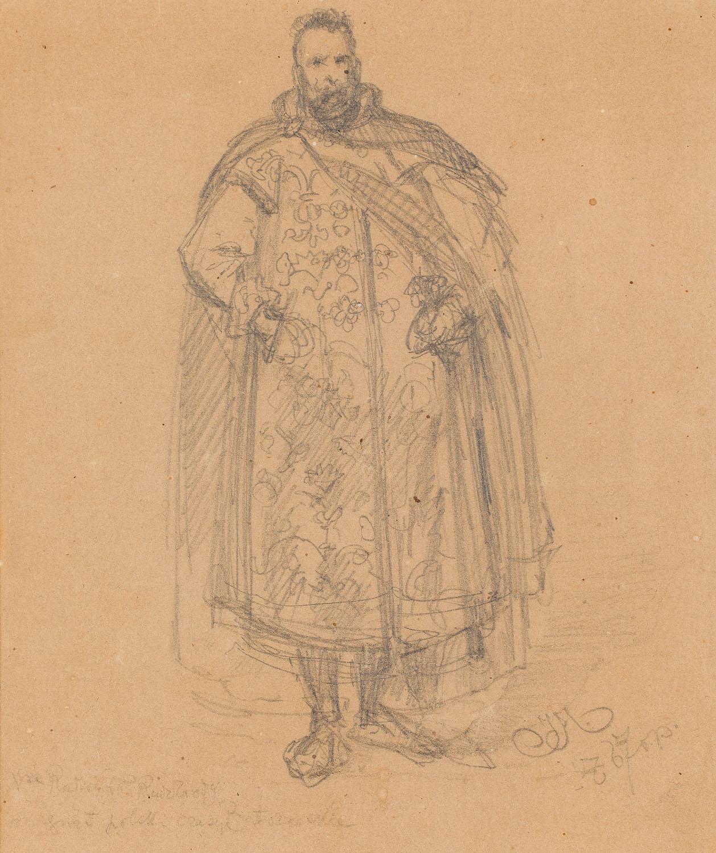 """""""Xiążę Radziwiłł Rudobrody"""", 1867"""