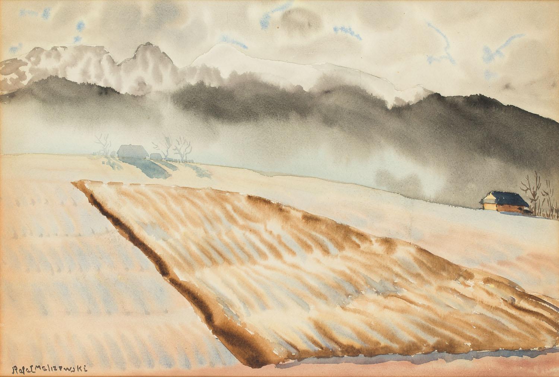 Widok na Giewont, 1936