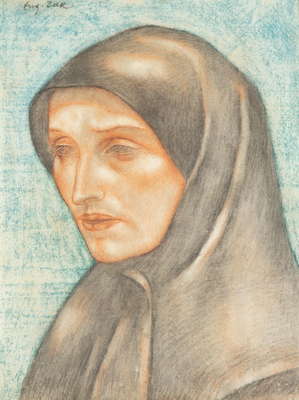 """""""Głowa mniszki"""", około1912-1913"""