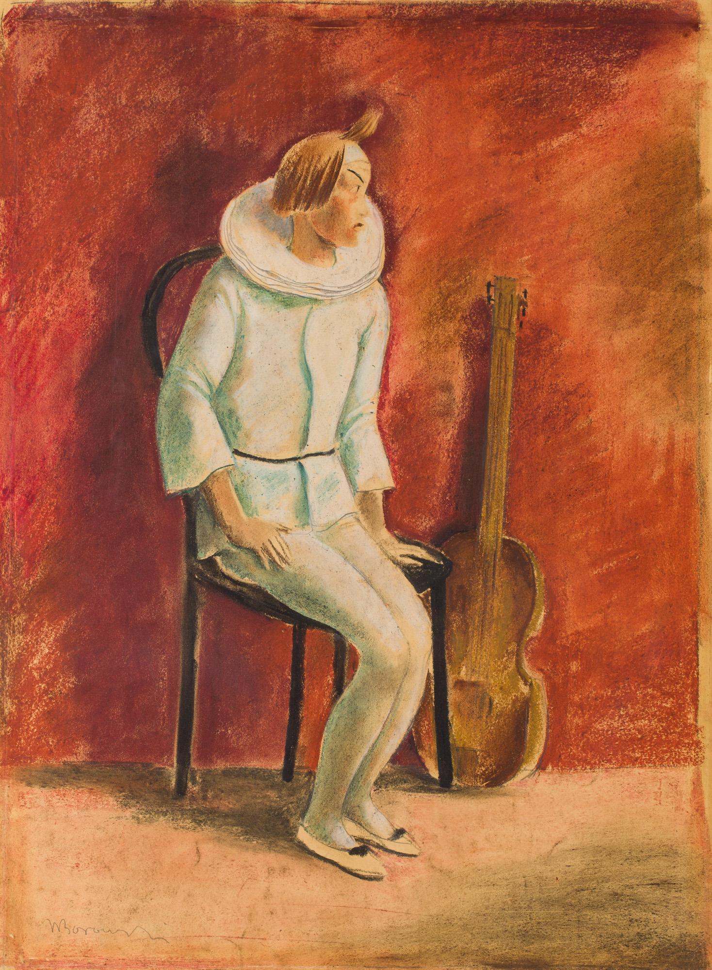 Pierrot, około 1930