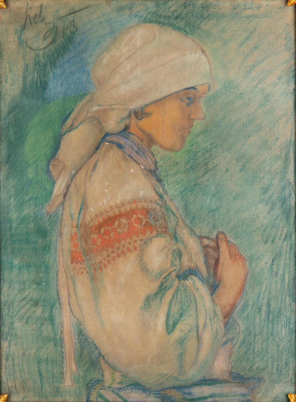Portret Hucułki, 1913