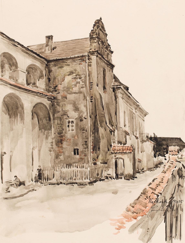 """""""Wąchock"""", 1918"""
