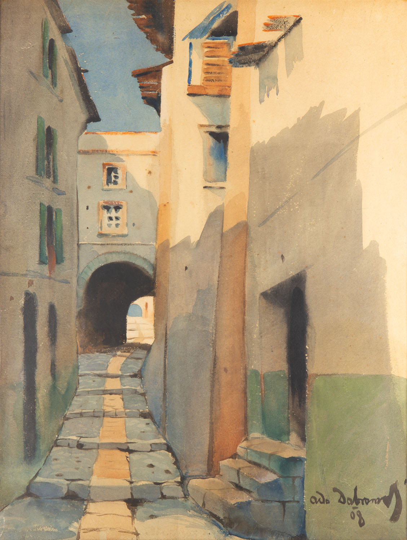 Zaułek, 1908