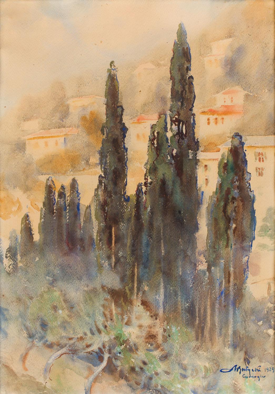 Cyprysy, 1929