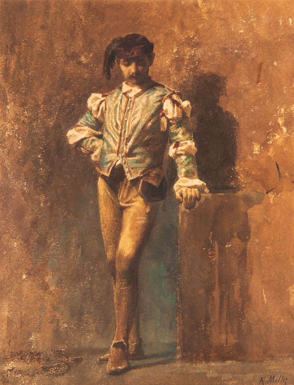 """""""Rzym średniowieczny – kostium florencki"""", 1911"""