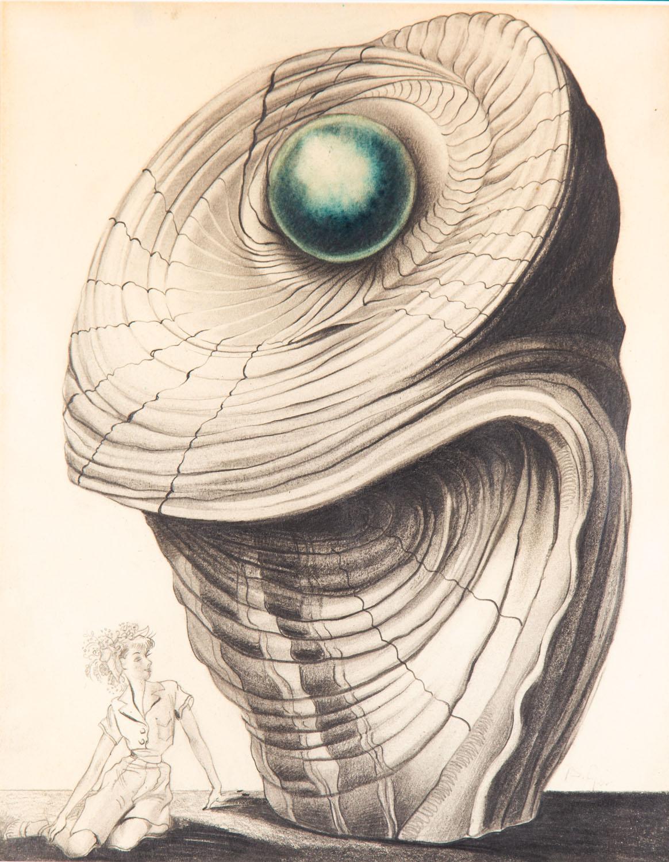 Niebieska perła, lata 40. XX w.