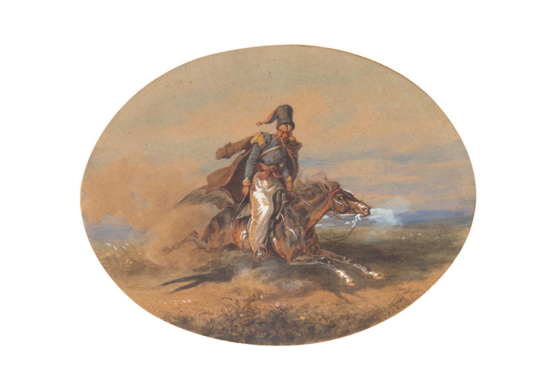 """""""Ej, ty na szybkim koniu, gdzie pędzisz kozacze?"""", 1854"""
