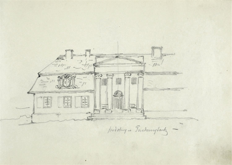 Szkic pałacu