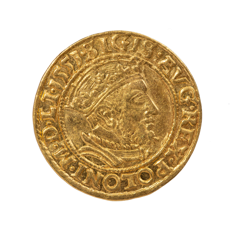 Zygmunt II August, dukat gdański, 1551 r.
