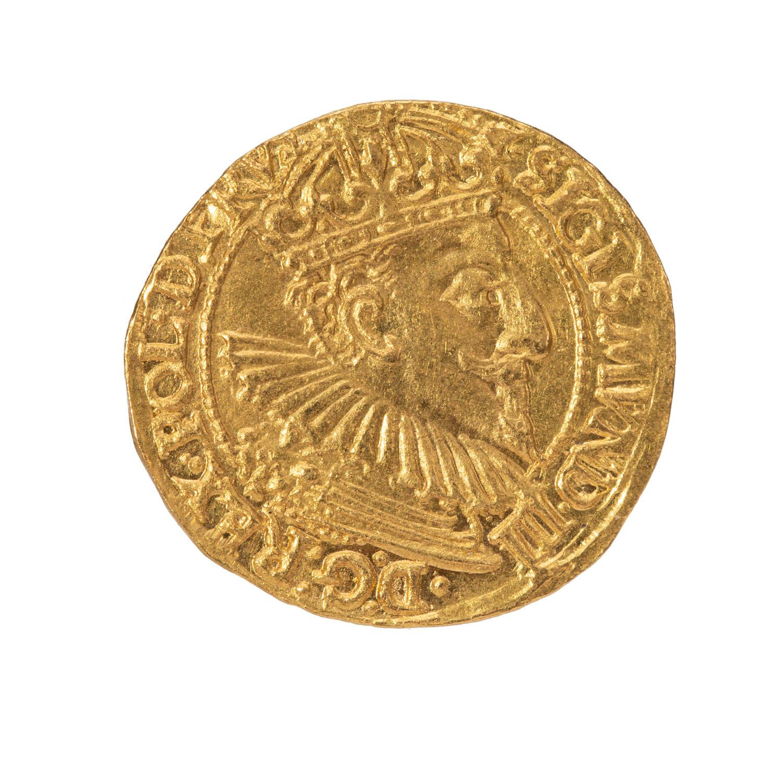 Zygmunt III Waza, dukat gdański, 1595 r.