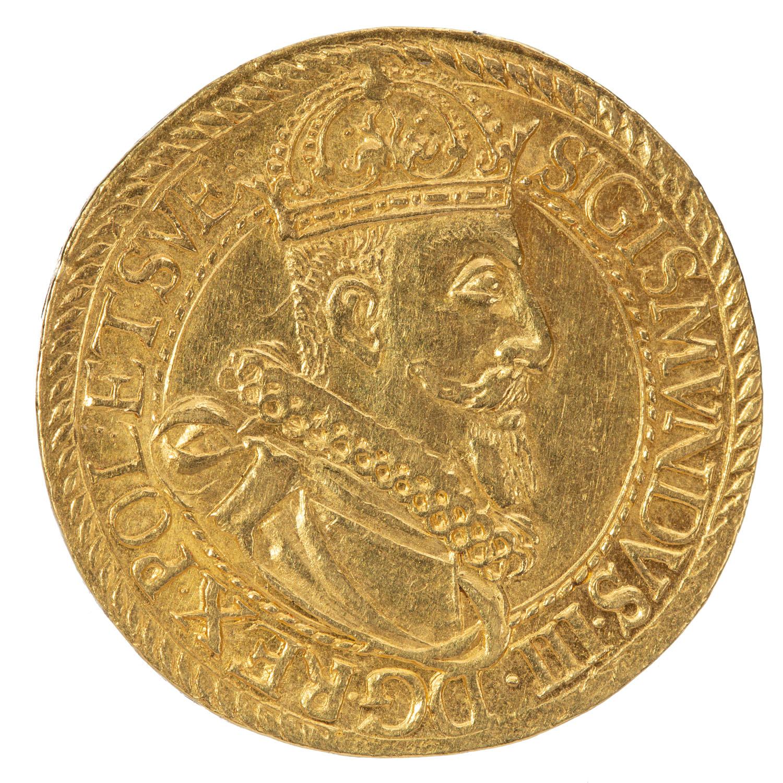 Zygmunt III Waza, pięciodukatówka koronna, 1611 r.