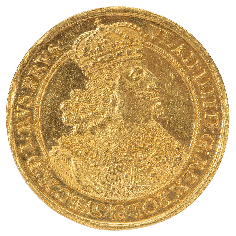 Władysław IV, donatywa gdańska 2.dukatowa 1647, 1647 r.
