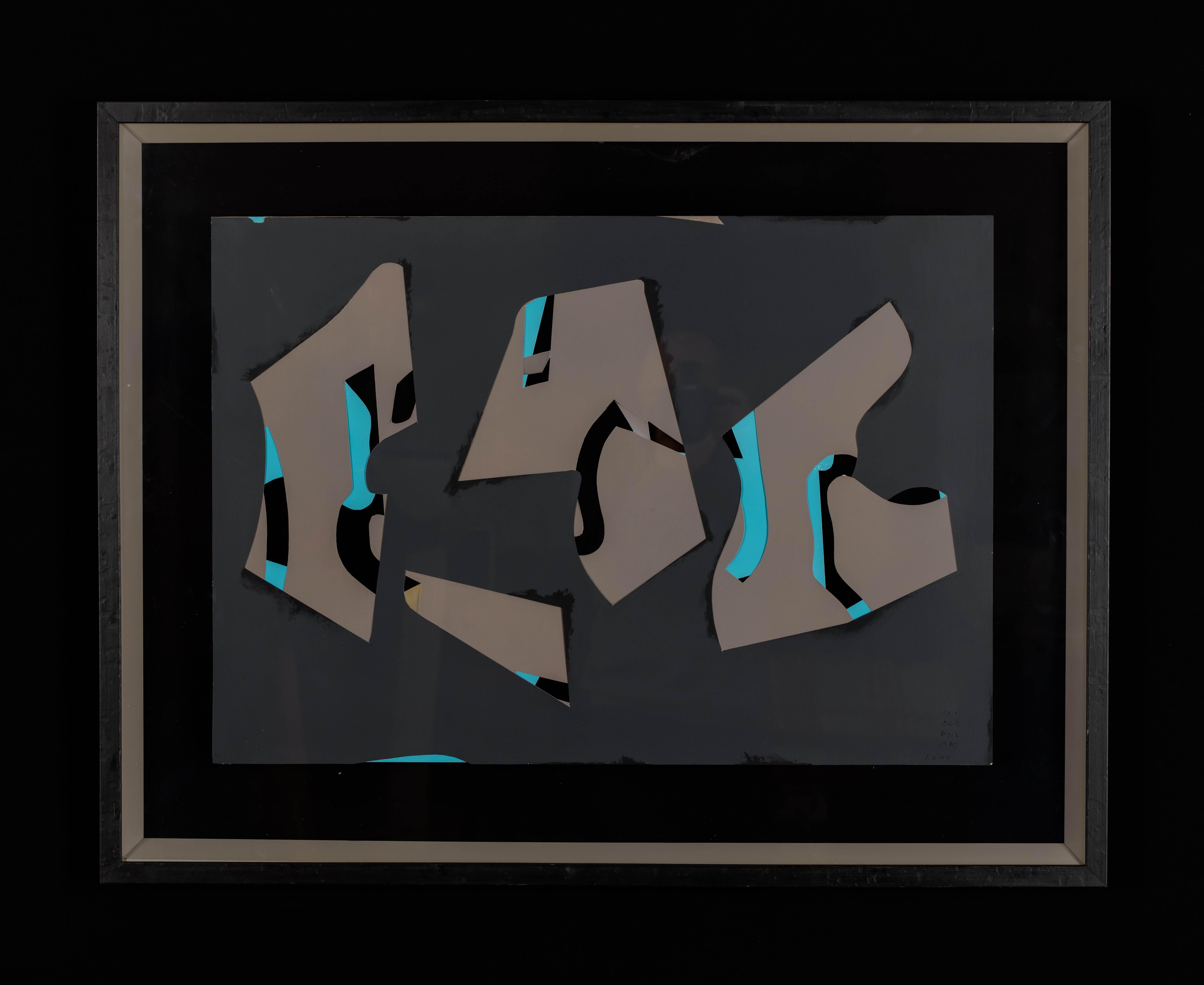 """""""Reszty z reszt 5. Szaro-błękitne."""", 2009"""