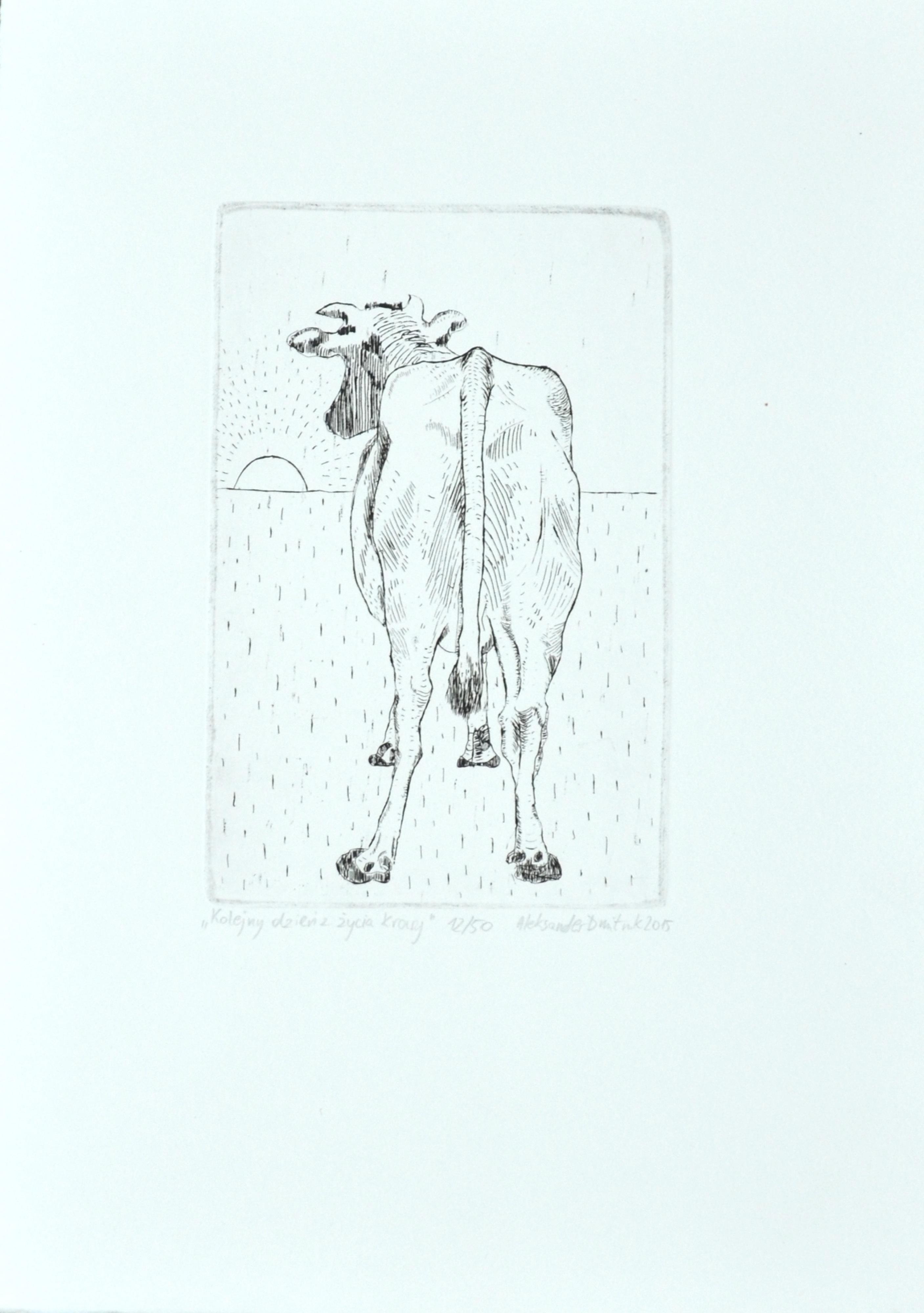 """""""Kolejny dzień z życia krowy"""""""