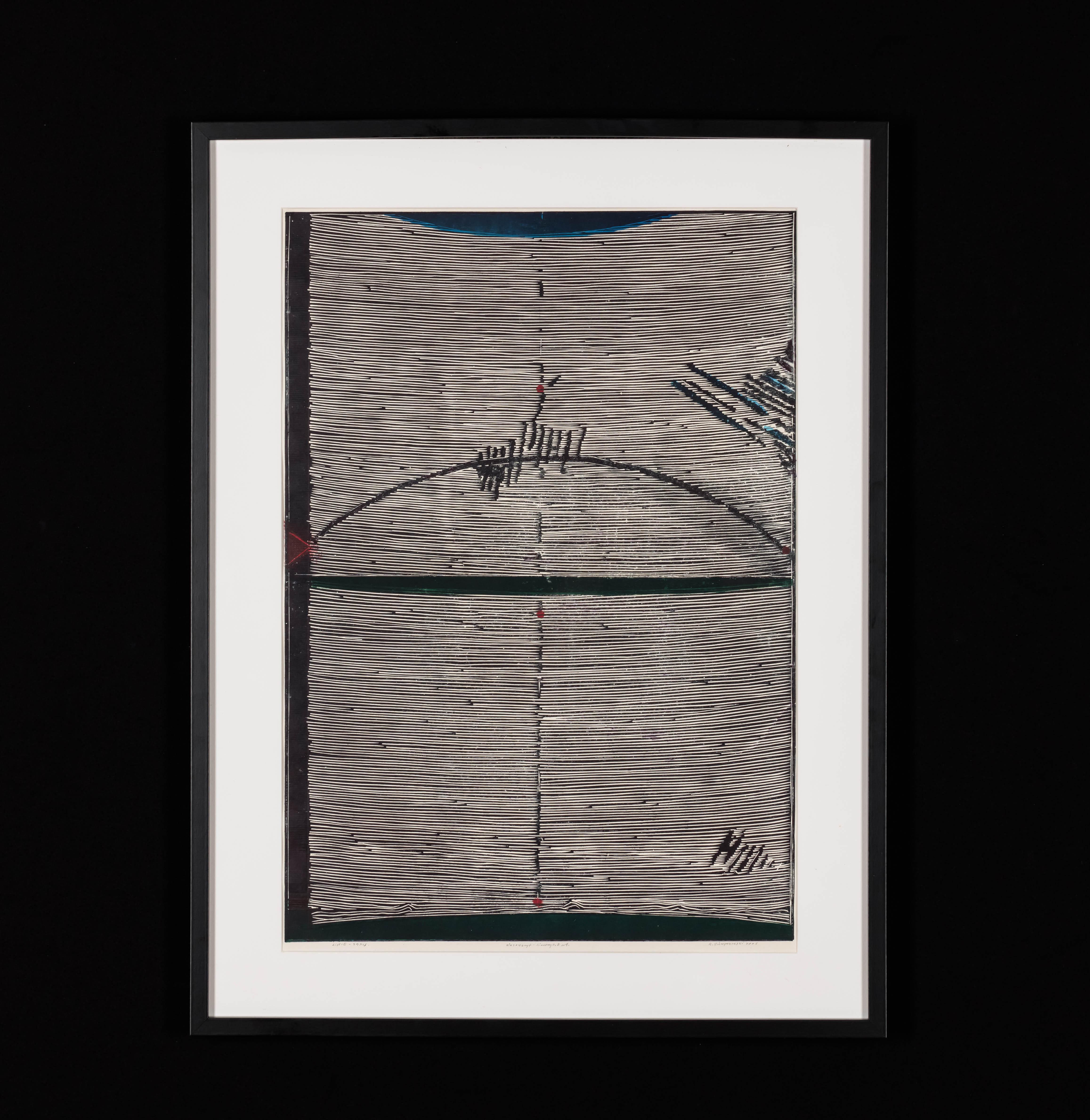 """""""Linie-zapis"""", 2006"""