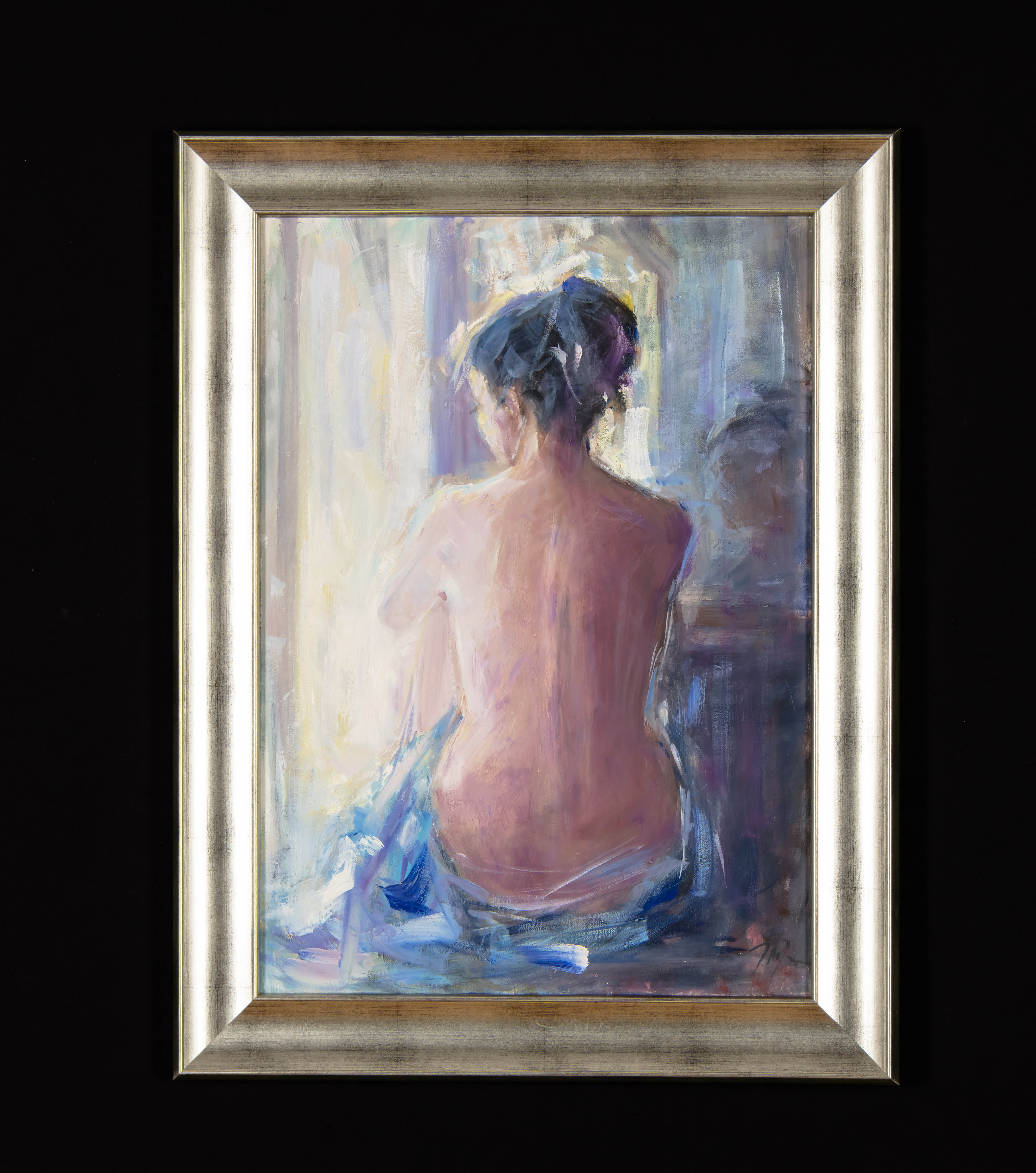 """Akt niebieski"", 2019"