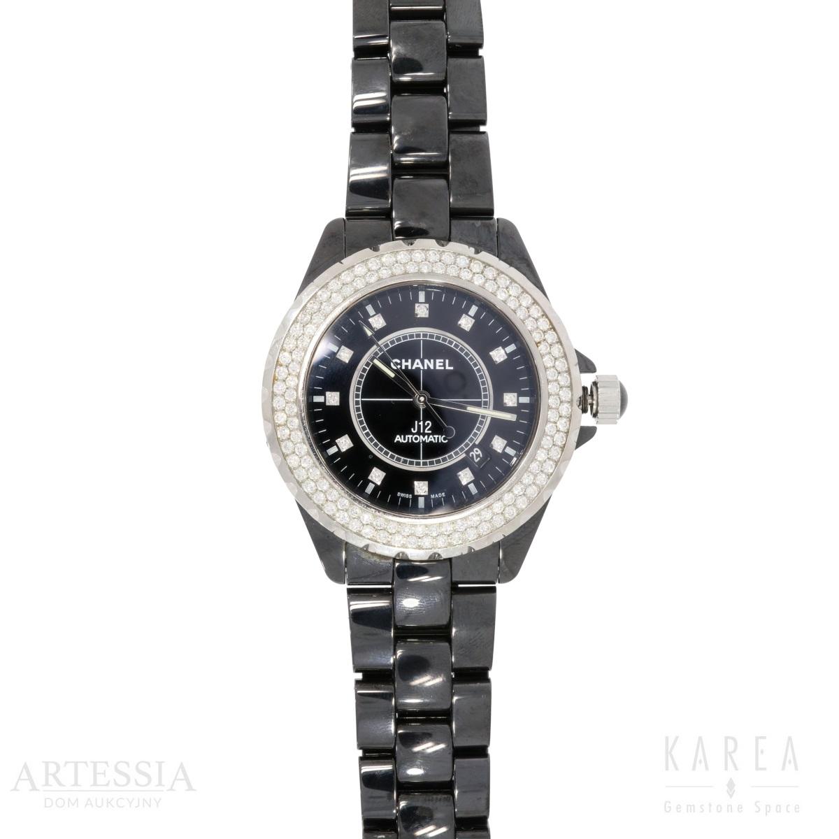 ZEGAREK DAMSKI NARĘCZNY, Chanel, J12 Automatic, ok. 2009 r.