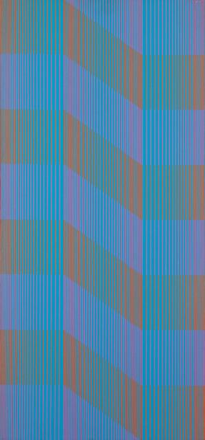 """""""Nasycony niebieski"""" (""""Saturated Blue""""), 1971"""