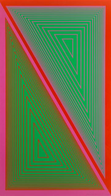 """Triangulated Green"", 1977"