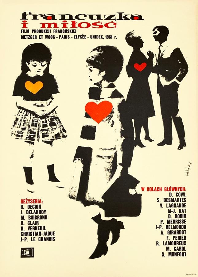 Francuzka i miłość, 1962