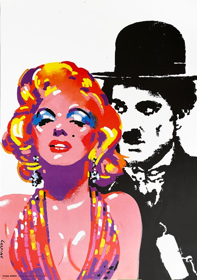 Marilyn i Chaplin, 1992