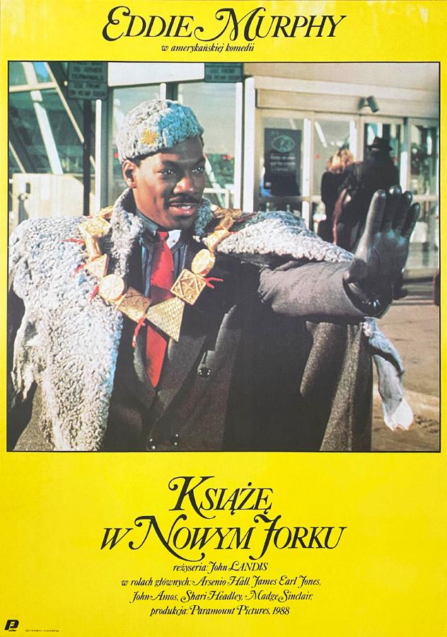 Plakat niesygnowany, Książę w Nowym Jorku, 1989