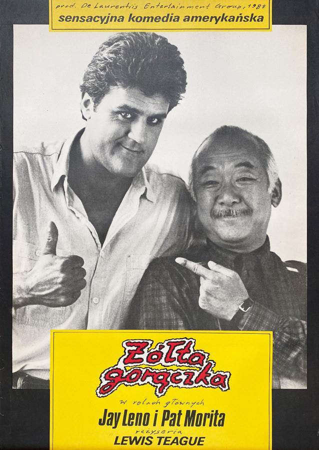 Plakat niesygnowany, Żółta gorączka, 1989