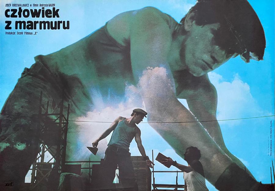 Człowiek z marmuru, 1977