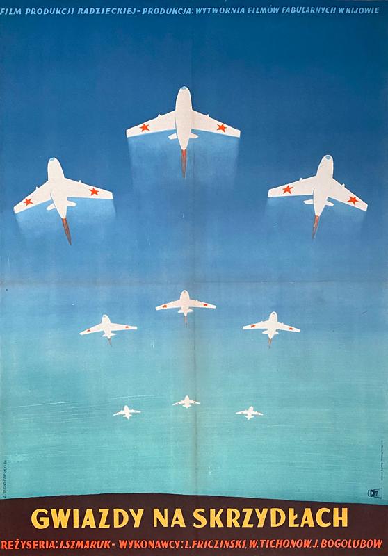 Gwiazdy na skrzydłach, 1954