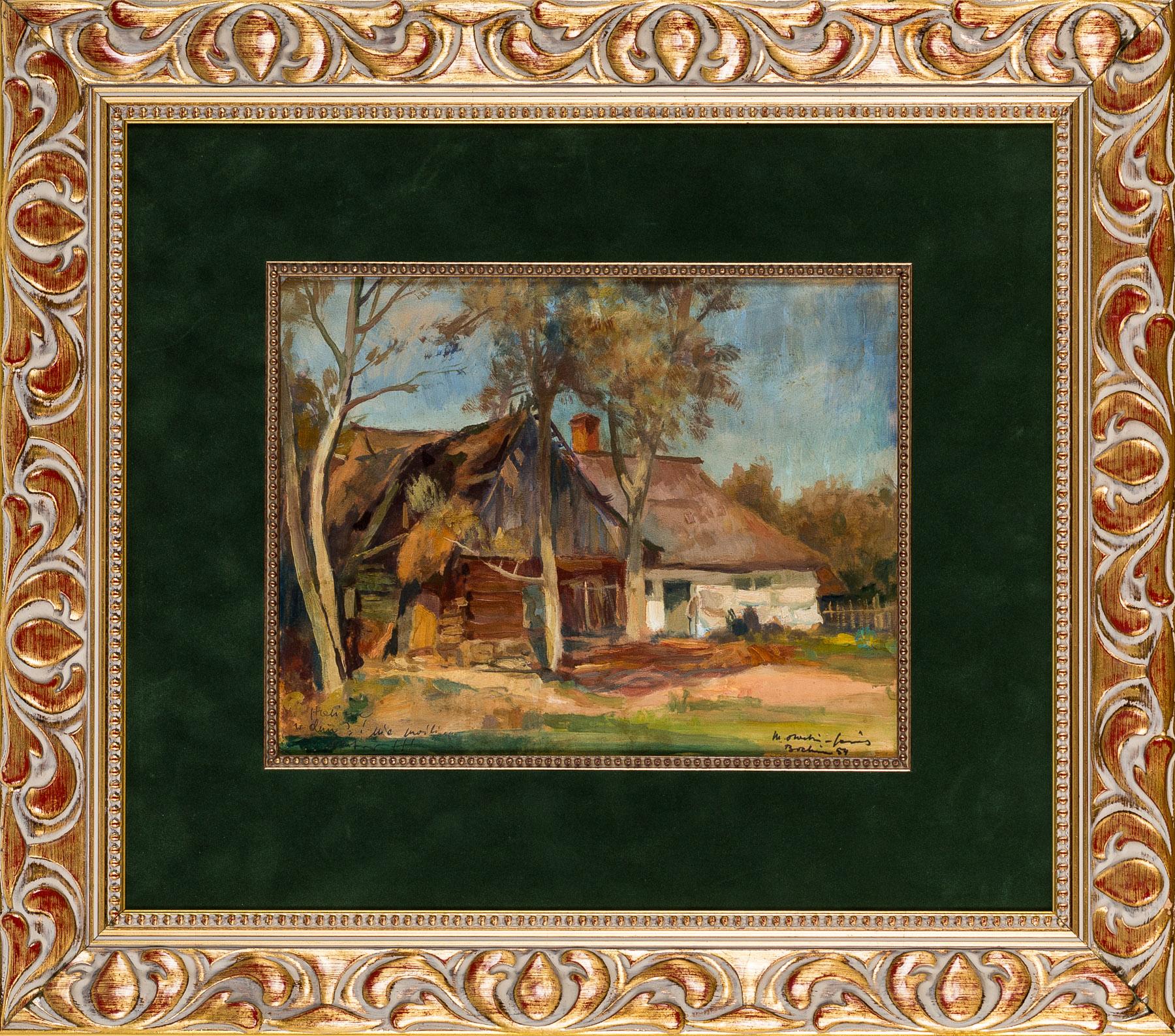 Stare chaty w Bochni, 1954